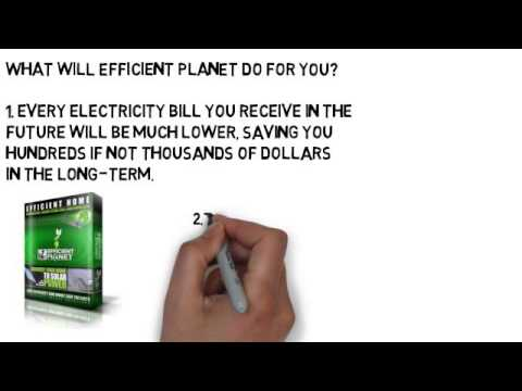 Join The Efficient Planet Movement & Stop Paying Your Electricity Bills Forever!