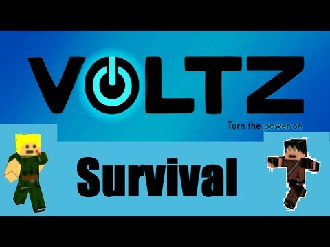 Minecraft VOLTZ Survival – Deel 6 – Een WIND TURBINE!!!