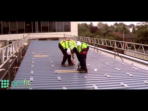 Coca Cola Enterprises 23.25kW Solar PV for Electric Car Charging Bays – Installed by Genfit