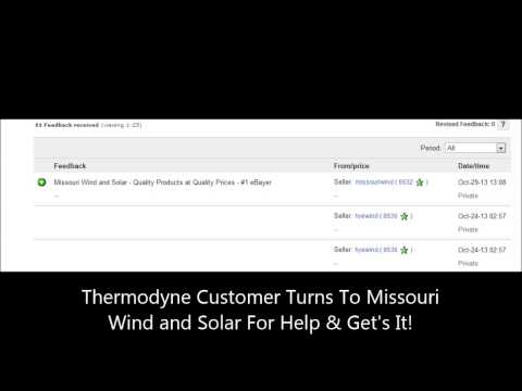 Missouri Wind and Solar Help's Customer's