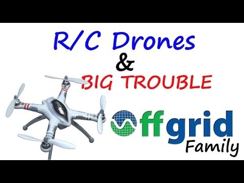 OFF GRID FAMILY #71 – BIG crap with the wife & getting ready for flying camera platforms off grid