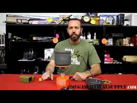 Thermoelectric Generator Power Pot and Camp Stove