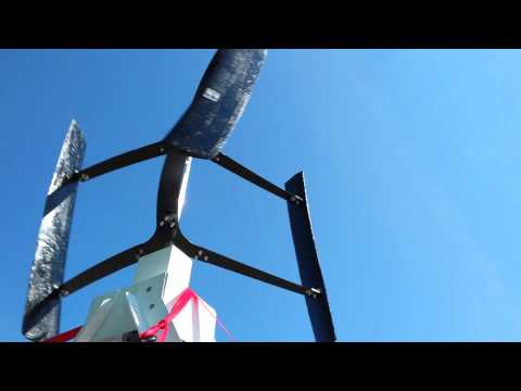 Vertical Axis Wind turbine – BYUI