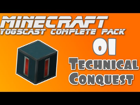 Minecraft Technical Conquest 1 – POWA (Yogscast Complete Mod pack)