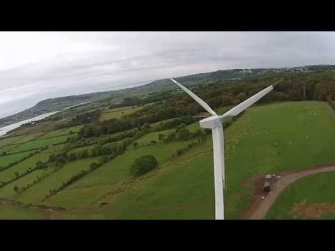 Dji phantom 2 vision fpv wind turbine