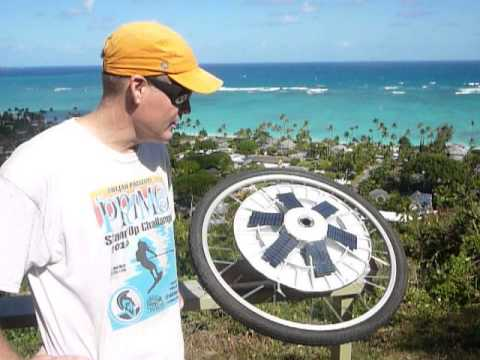 Amazing Solar Bike Wheel
