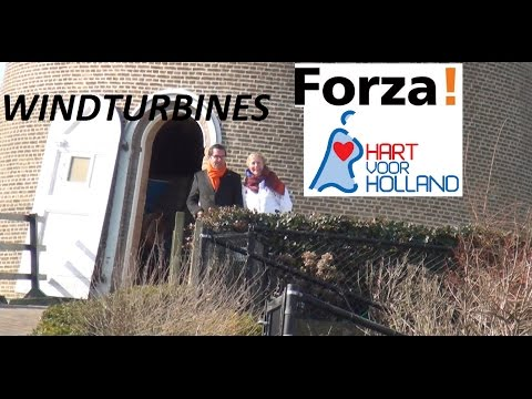 Forza! en HvH over windmolens
