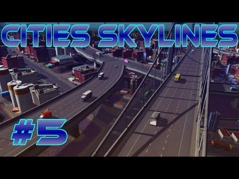 Cities Skylines – Traffic Nightmare | Mergers | Throughput #5