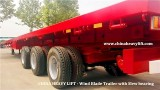 Wind Blade Trailer with Slew Bearing – CHINA HEAVY LIFT
