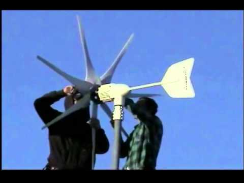 Windmax wind turbine blade upgrade kit from Missouri Wind and Solar