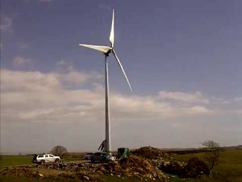 Orenda's Skye™ Wind Turbine: On a windy day in Scotland