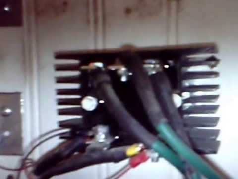 Windmax HY400L (a real wind turbine) and How you wire a rectifier cooling fan
