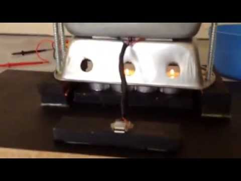 Homemade thermoelectric generator