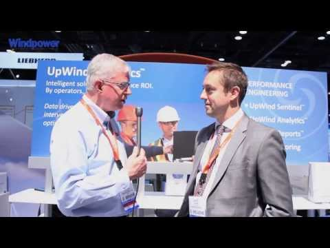 Windpower Engineering Interviews Peter Wells at AWEA WINDPOWER 2013