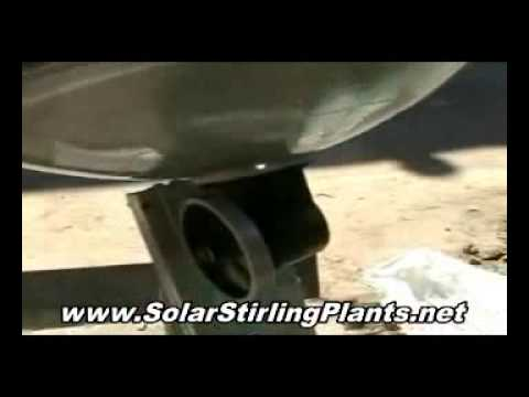 Get our Recommended Solar Stirling Plant Guide Today and Make Free Electricity