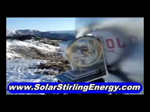 Choose Free Renewable Energy – Choose Solar Stirling System For Free Electricity