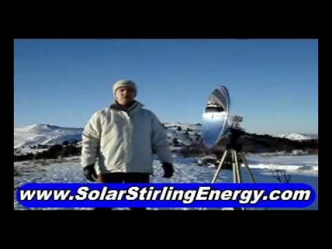 Solar Stirling Free Energy Engine, Concept That Will Cut Down Your Electricity Bills